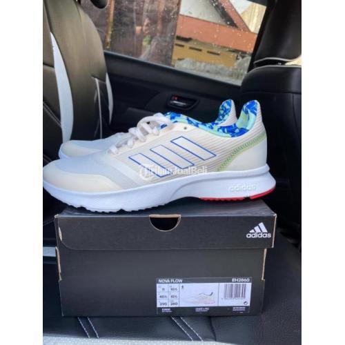 Sepatu Adidas Nova Flow Size 45 1/3 BNIB Lengkap Box Harga Murah - Semarang