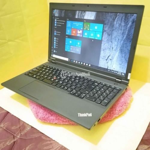 Laptop Lenovo Thinkpad Bekas Harga Rp 4,95 Juta Core i5 Ram 16GB Murah - Bekasi