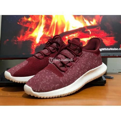Sepatu Adidas Tubular Tubular Shadow Knit Core Burgundy Second Istimewa - Jogja