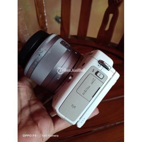Kamera Bekas Mirrorless Canon EOS M3 Kit Lengkap Box Normal - Semarang