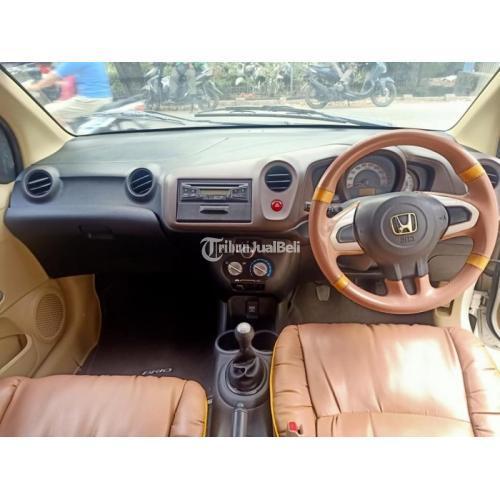 Mobil Bekas Honda Brio S Manual 2015 Mulus Siap Pakai Harga Murah - Makassar