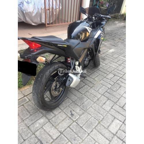 Motor Bekas Honda CBR 150 CBU Thailand 2012 Mulus Lengkap Harga Nego - Makassar