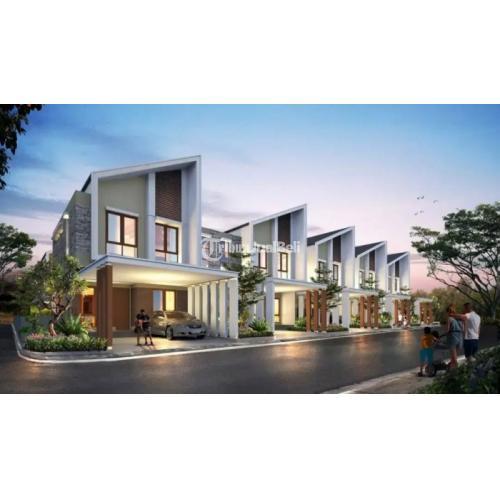 Jual Rumah 2 Lantai Murah Strategis di Podomoro River View Harga Nego - Bogor