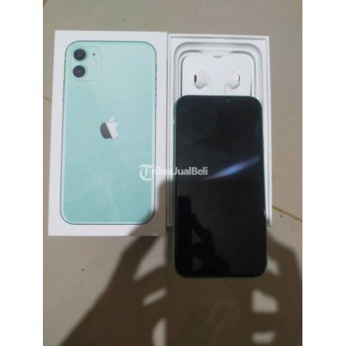 HP Iphone 11 64GB Bekas Harga Rp 9,85 Juta Lengkap Original Murah - Banten