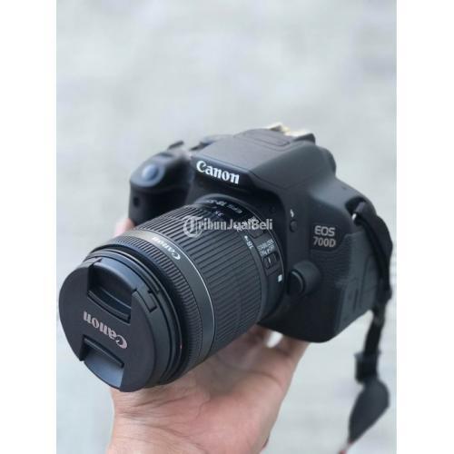 Kamera Canon 700D Bekas Harga Rp 4,5 Juta DSLR Murah Jarang Pakai - Makassar