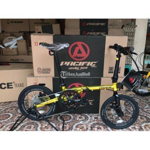Sepeda Lipat Pacific Kodiak 2.0 Gold Harga Rp 3,95 Juta Seli Murah Baru - Makassar