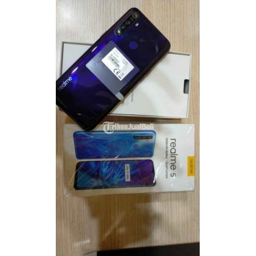 HP Realme 5 Bekas Harga Rp 1,85 Juta Ram 4GB 128GB Murah Lengkap - Surabaya