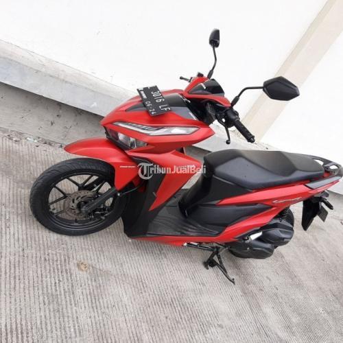 Motor Honda Vario CBS ISS Keyless Bekas Harga Rp 17,85 Juta Tahun 2019 Matic Murah - Surabaya