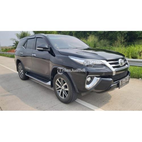 Mobil Toyota Fortuner VRZ Bekas Harga Nego Tahun 2016 Terawat - Tangerang