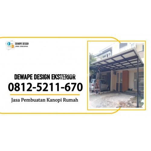 Jasa Pembuatan Kanopi Alderon Minimalis Malang - Jawa Timur
