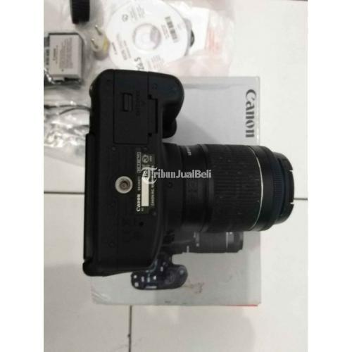 Kamera Canon 700D Bekas Harga Rp 4,1 Juta DSLR Murah Lensa Kit Normal - Tangerang