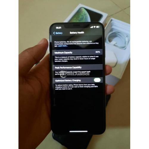 HP iPhone XS Max 256GB Bekas Harga Rp 10,8 Juta Normal Bonus Case - Makassar