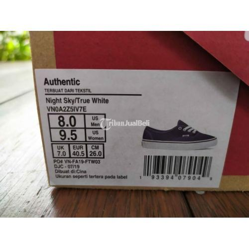 Sepatu Vans Authentic Night Sky / True White Original Size 40.5 Harga Murah - Jogja