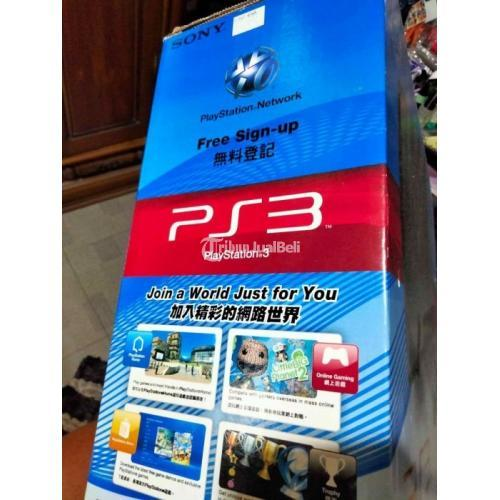 Game Sony PS3 Pro 500GB Like New Nominus Komplit Normal Harga Murah - Jogja