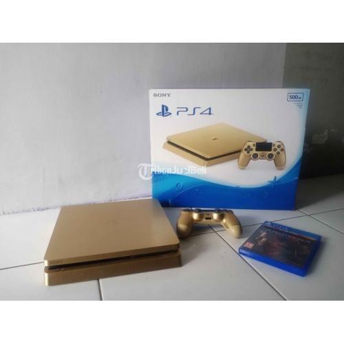 Game Sony PS4 Gold Edition Fungsi Normal Kabel Kitab Aman Harga Nego - Jogja