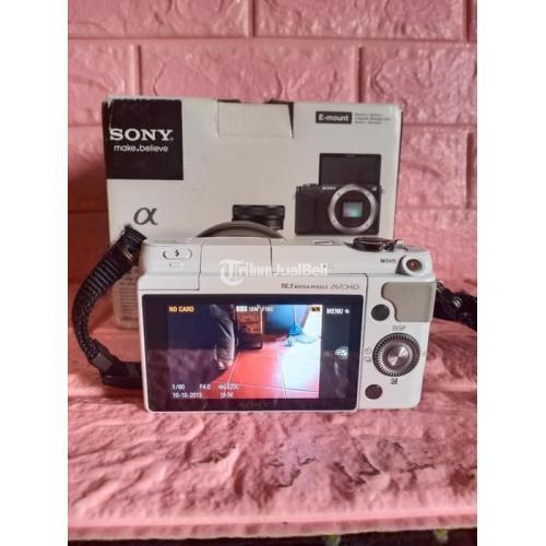 Kamera Bekas Mirrorless Sony Nex 3N Fullset Box Siap Pakai Harga Murah - Surabaya