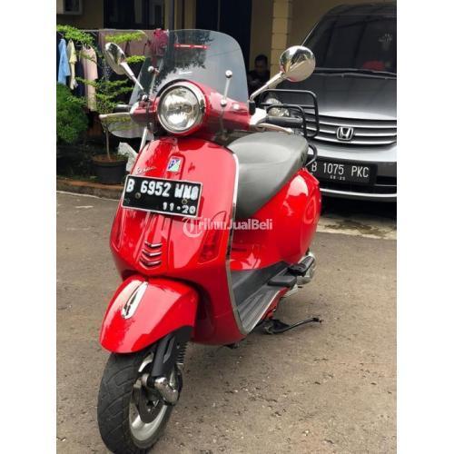 Motor Bekas Vespa Primavera 2015 Full Orisinil Surat Lengkap Harga Murah - Jakarta