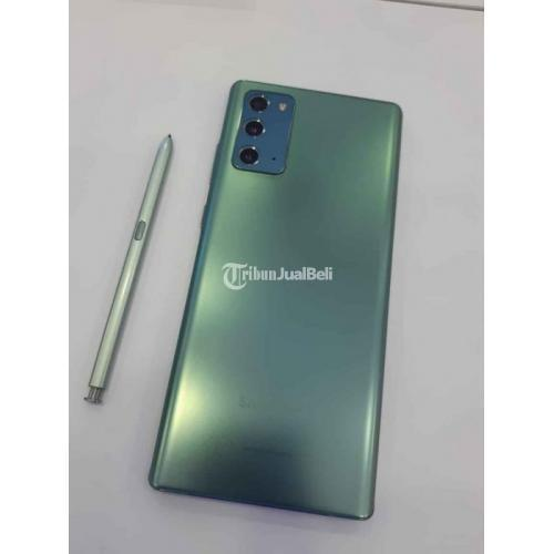 HP Samsung Note 20 Bekas Harga Rp 10,75 Juta Ram 8GB 256GB Lengkap Murah - Bekasi