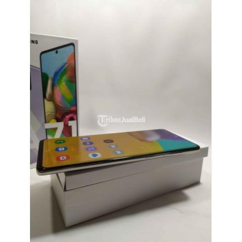 HP Samsung A71 Bekas Harga Rp 4,9 Juta Ram 8GB 128GB Murah Lengkap - Bekasi