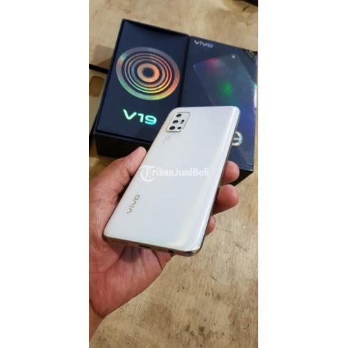 HP Bekas Vivo V19 8/128GB Fullset Like New Mulus Harga Nego - Denpasar