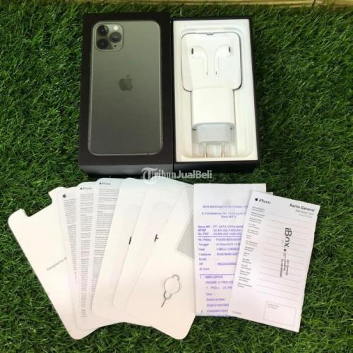 HP Bekas iPhone 11 Pro 256GB Garansi On Mulus Normal Harga Murah - Jogja