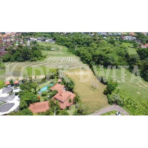 Dijual Tanah View Sawah Terasering Pererenan Canggu Bali Harga Nego - Badung