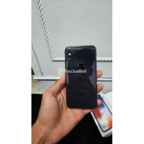 HP Iphone X 256GB Bekas Harga Rp 7 Juta Nego Lengkap Harga Murah - Palembang