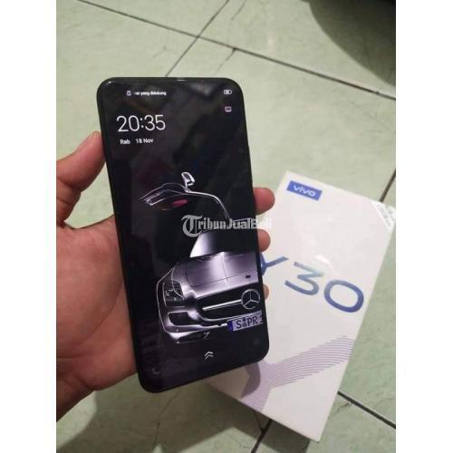 HP Vivo Y30 Bekas Harga Rp 2,3 Juta Nego Ram 4GB 128GB Murah Lengkap - Jakarta