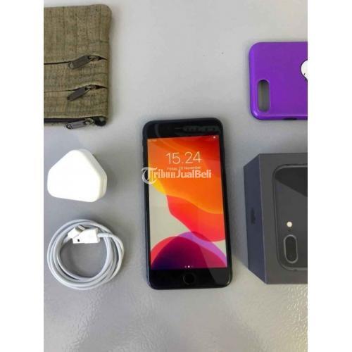 HP Bekas iPhone 8 Plus 64GB Grey Inter Normal Baterai Sehat Harga Murah - Jakarta