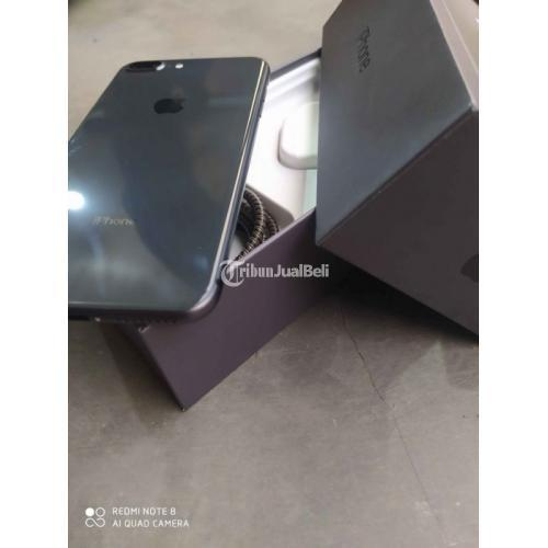HP Bekas iPhone 8 Plus 64GB Space Grey Fullset Normal Harga Murah - Makassar