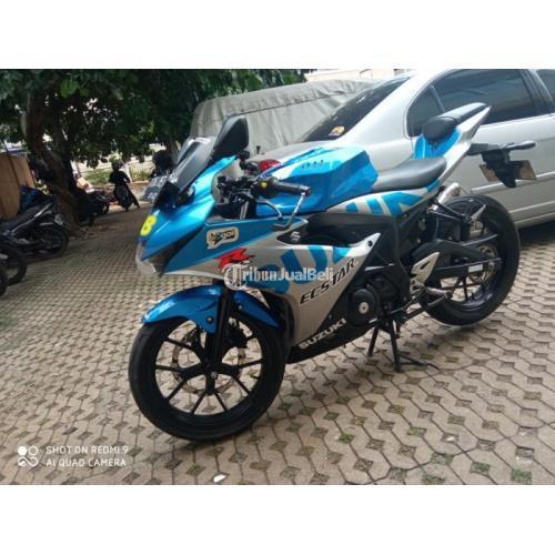 Motor Suzuki GSX R150 Bekas Harga Rp 15,5 Juta Tahun 2017 Lengkap Murah - Jakarta