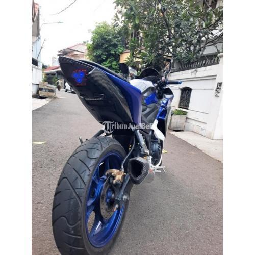 Motor Yamaha R25 Movistar Bekas Harga Rp 30,9 Juta Nego Tahun 2016 Lengkap - Jakarta