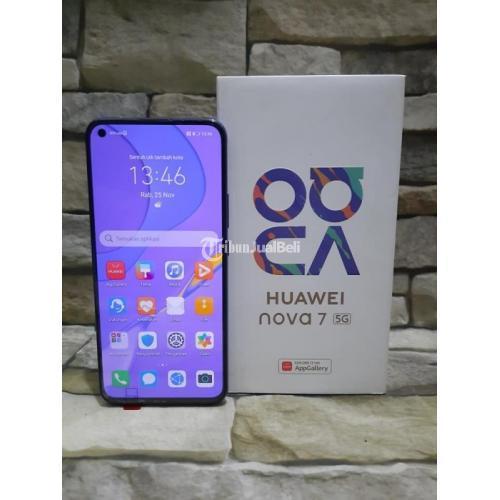 HP Huawei Nova 7 5G Bekas Harga Rp 5,3 Juta Ram 8GB 256GB Murah Lengkap - Surabaya