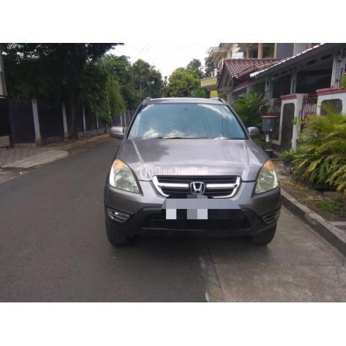 Mobil Bekas Honda CRV Gen 2 2003 Mesin Sehar Mulus Harga Murah - Jakarta