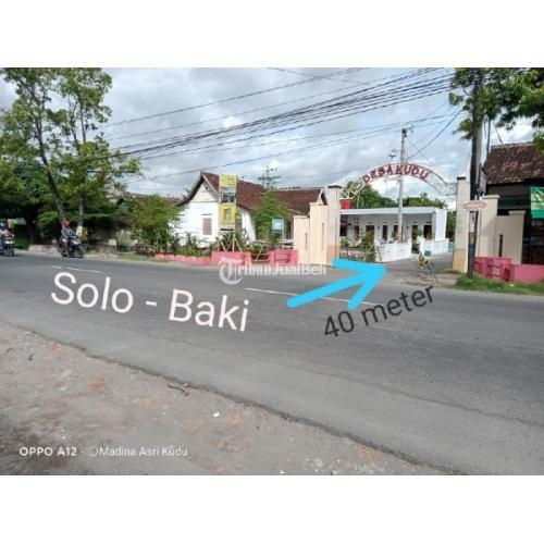 Dijual Kavling Siap Bangun Hanya 40meter dari Jalan Raya Solo Baki - Sukoharjo