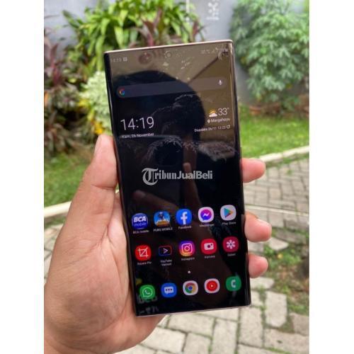 HP Bekas Samsung Note 20 Ultra 8/256GB SEIN Normal Mulus Harga Nego - Jakarta