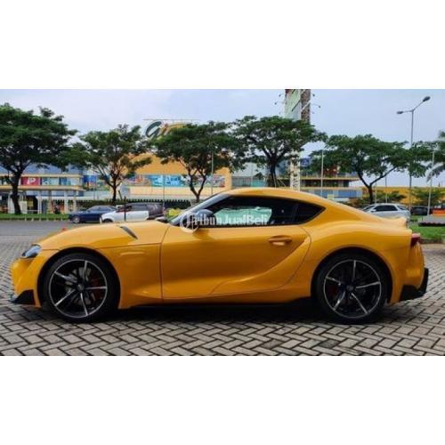 Mobil Toyota Supra GR 3.0 Pro Coupe Bekas Tahun 2019 Low KM Harga Nego Murah - Surabaya