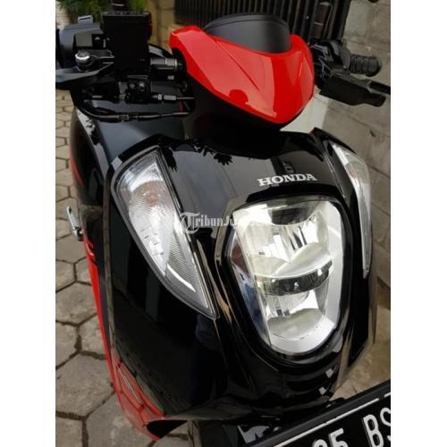 Motor Bekas Honda Genio CBS ISS 2019 Like New Lengkap Pajak Panjang - Semarang