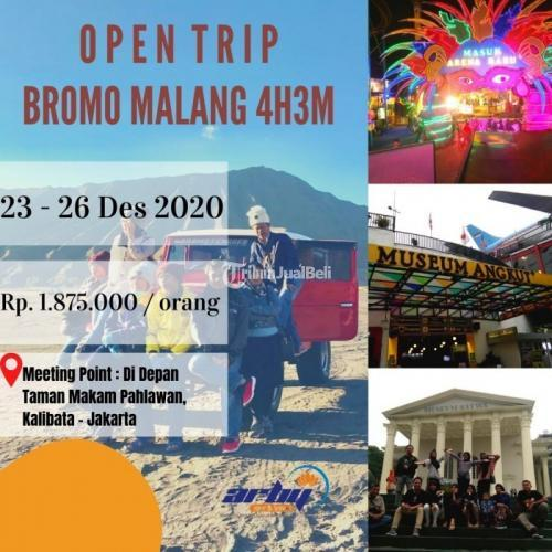 Open Trip Murah Bromo Malang 4H3M Promo Akhir Tahun - Jakarta