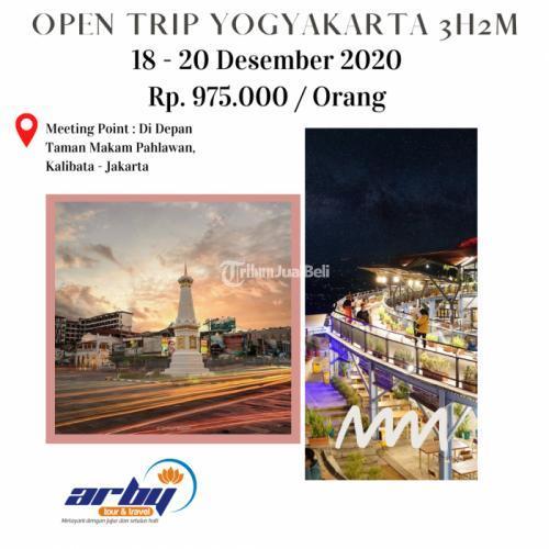 Promo Open Trip Jogja Hits Akhir Tahun Harga Murah Fasilitas Lengkap - Jakarta