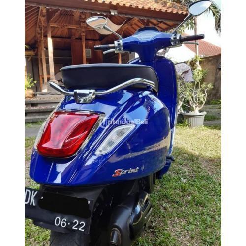 Sekuter Vespa Sprint iGet Bekas Harga Rp 35 Juta Nego Tahun 2019 Full Ori Murah - Bali