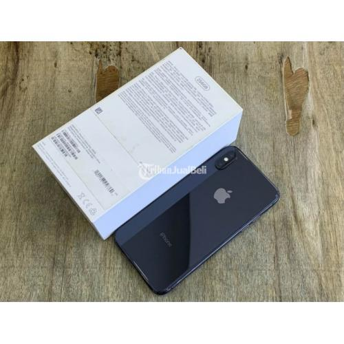 HP Bekas iPhone X 256GB Mulus Fullset Nominus Unit Original Harga Murah - Jogja