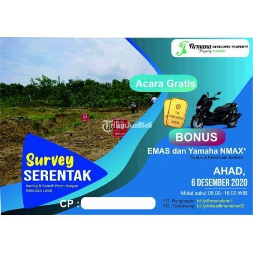 Dijual Kavling Bonus Emas Dekat Kelurahan Gedawang Banyumanik - Semarang