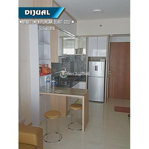 Dijual Apartemen Puncak Bukit Golf, 2 BR, Pool View, Fully Furnished Harga Nego - Surabaya