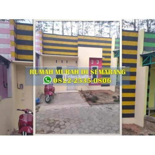 Dijual Rumah Murah Dekat Jateng Valley LT.60m2 2KT 1KM - Ungaran