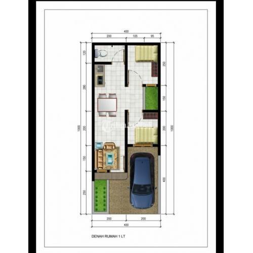 Dijual Rumah Murah Di Tanjung Priok Dekat Mall Sunter Desain Minimalis Modern - Jakarta