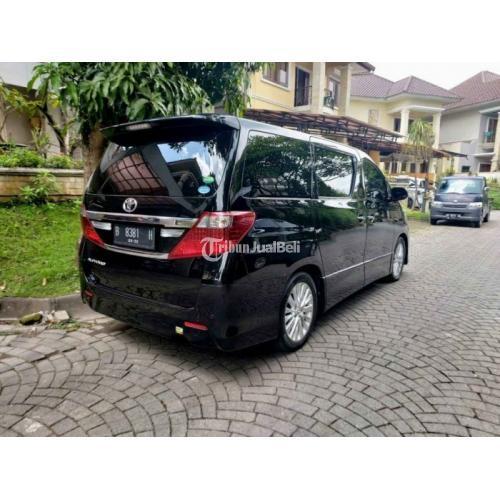 Mobil Bekas Toyota Alphard SC Premium Sound 2012 Surat Lengkap Pajak Tertib Harga Nego - Jogja