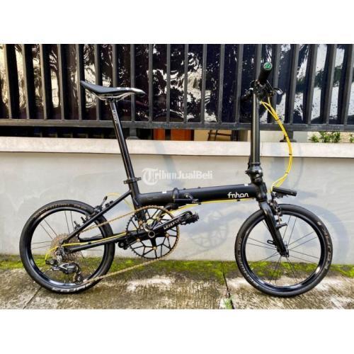 Sepeda Lipat Fnhon Zephyr Bekas Pribadi Normal Terawat Harga Nego - Jogja