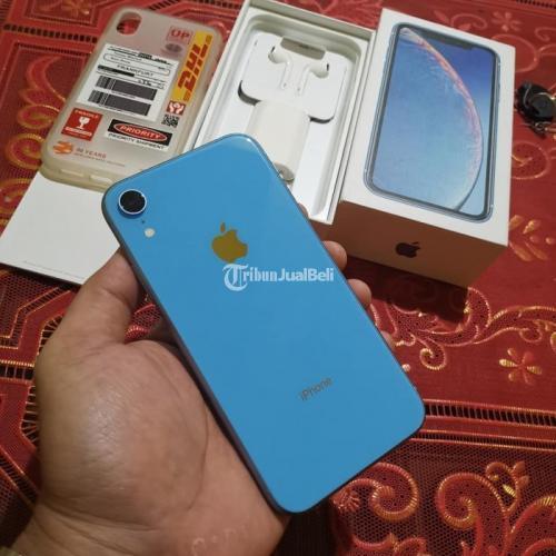 HP Bekas iPhone XR 256GB Fullset Mulus Nominus Bebas Reset Harga Murah - Surabaya