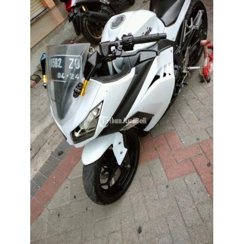 Motor Bekas Kawasaki Ninja 250 Fi 2014 Mulus Terawat Surat Lengkap - Surabaya